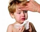 Сильный кашель у ребенка, температура: что делать?