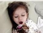 Как снять приступ кашля у ребенка?